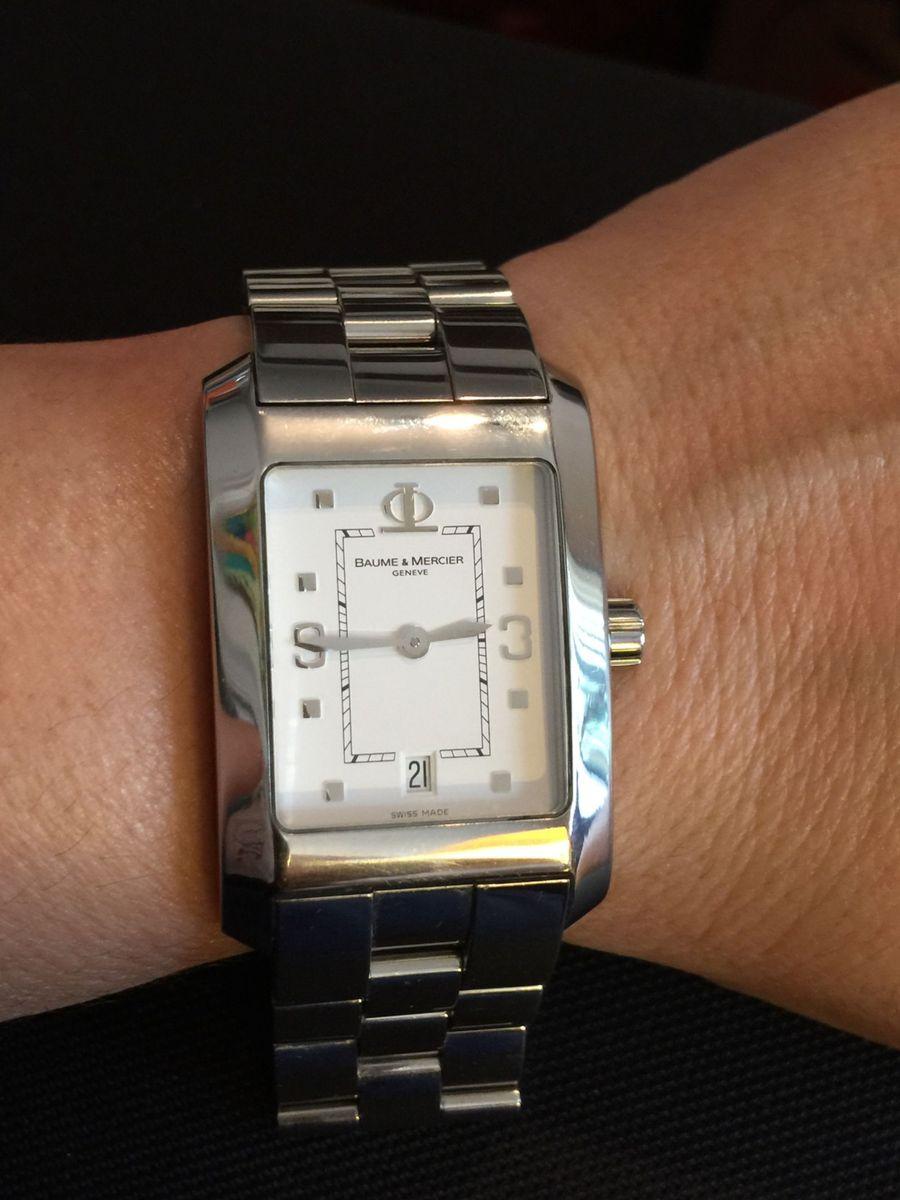 44e5de54ea7 relógio aço baume  amp  mercier - relógios baume-e-mercier