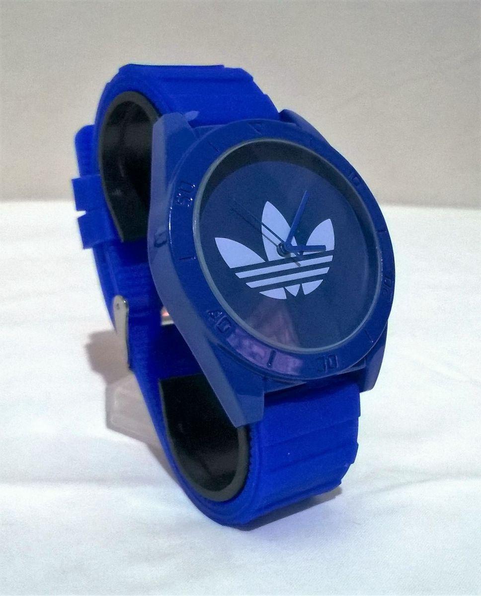 d8ad54c810a relógio adidas santiago - unissex - azul - relógios adidas