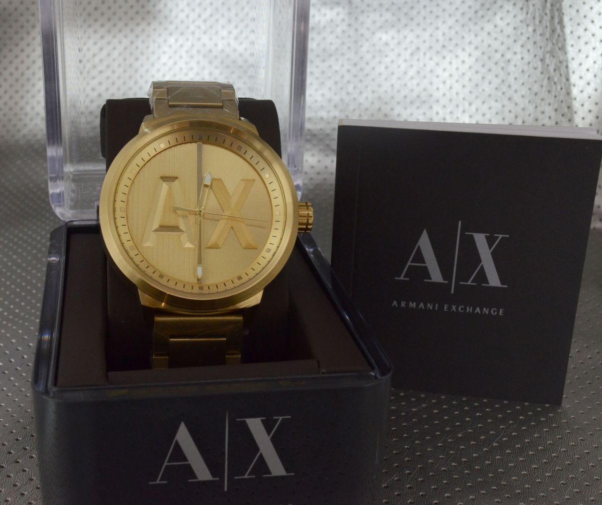 Relógio Armani Exchange Ax1363   Relógio Masculino Armani Exchange ... ada6688801