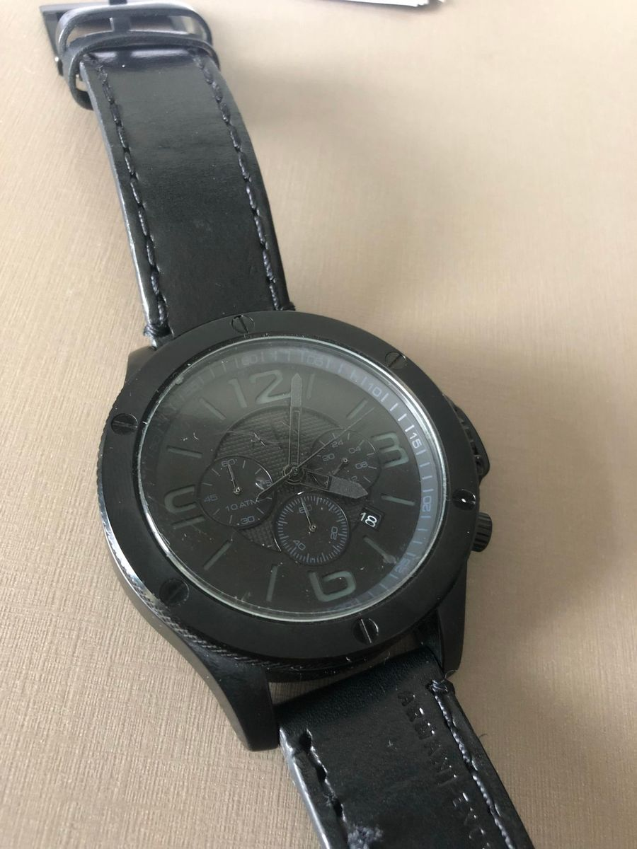 4f9a640d7dd28 Relogio Armani Exchange   Relógio Masculino Armani Exchange Usado ...