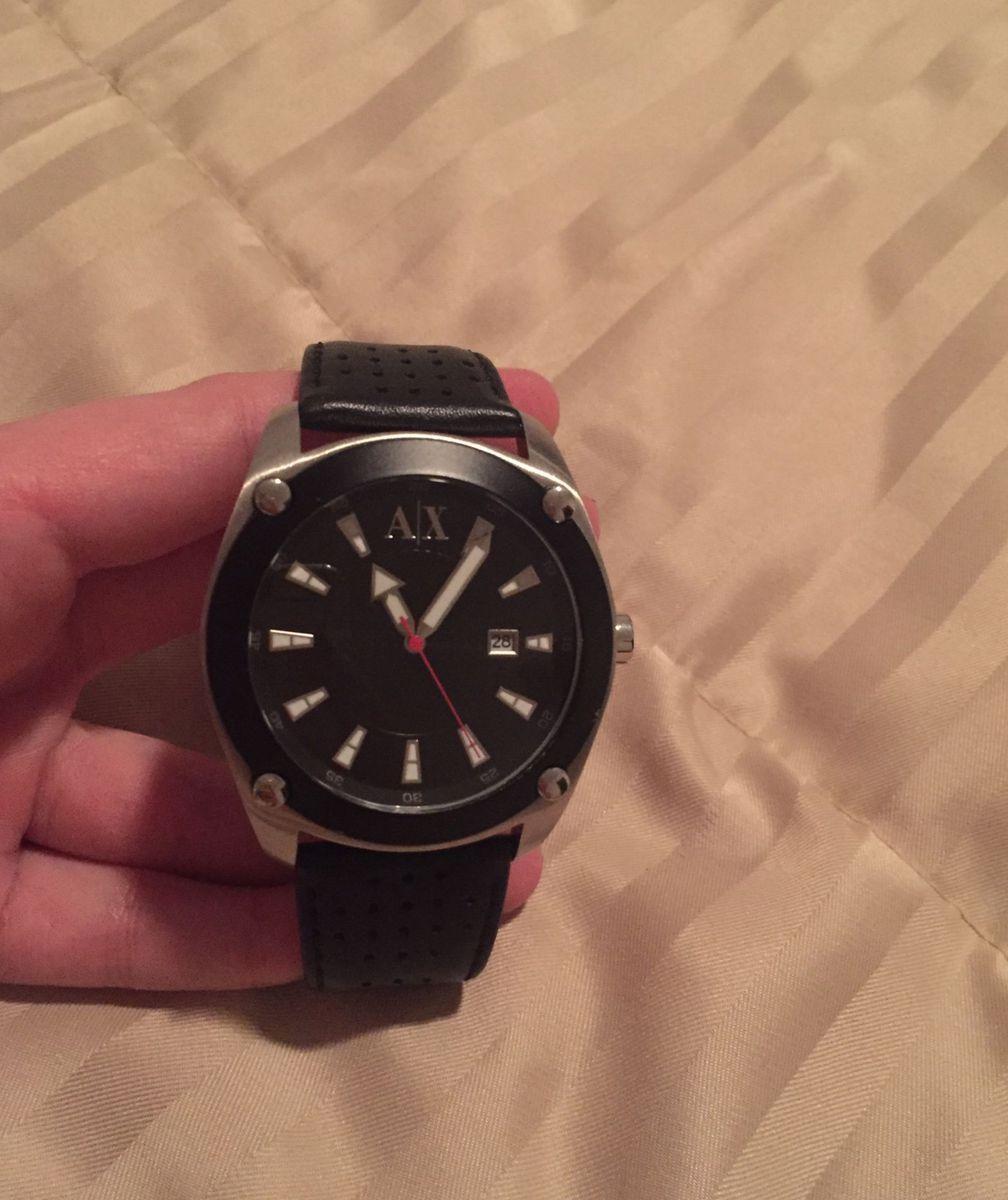 e7180f6cf8d71 Relógio Armani Exchange   Relógio Masculino Armani Exchange Usado ...