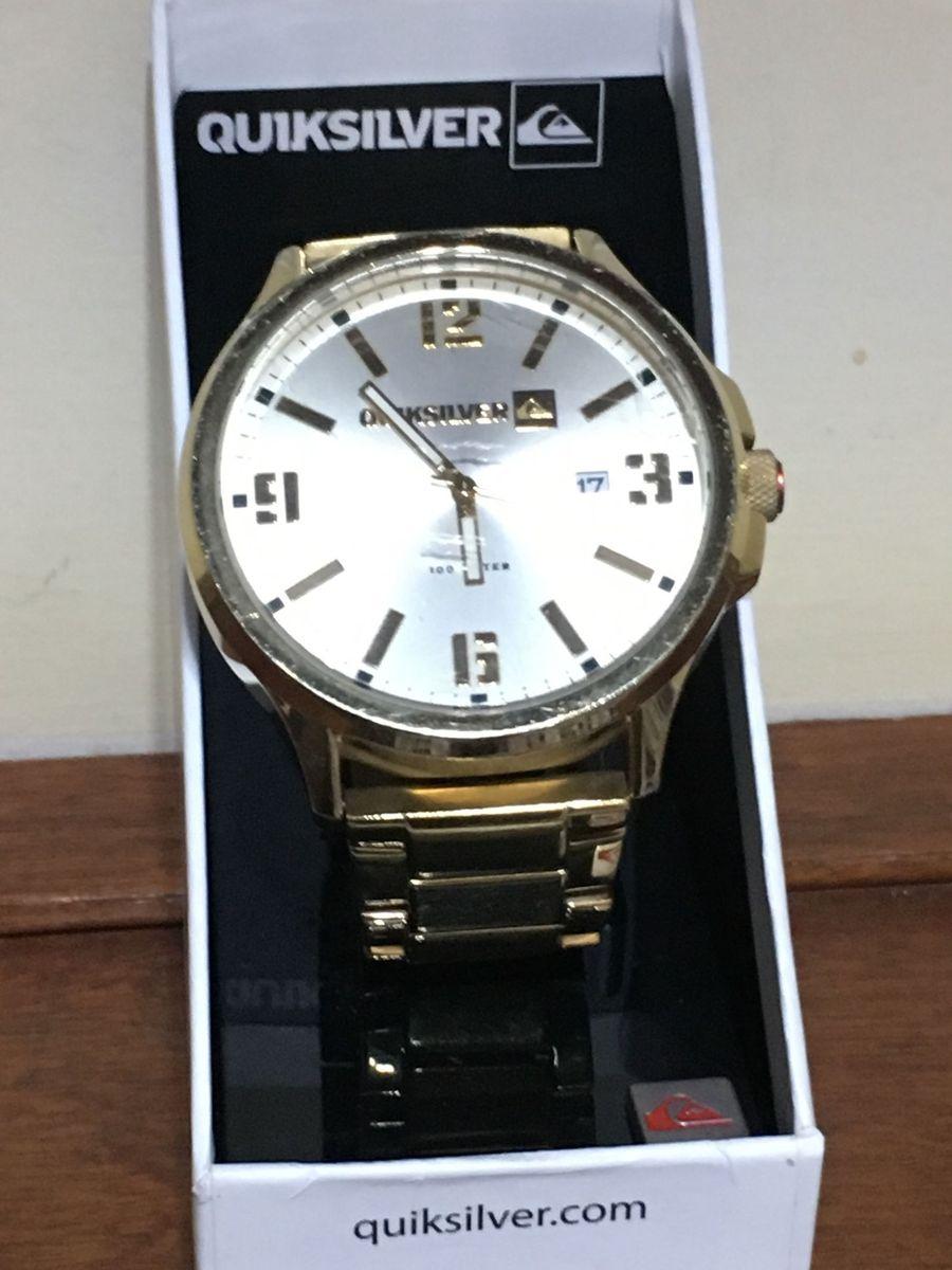 e8d1c462f80 relógio beluka quicksilver dourado - relógios quicksilver