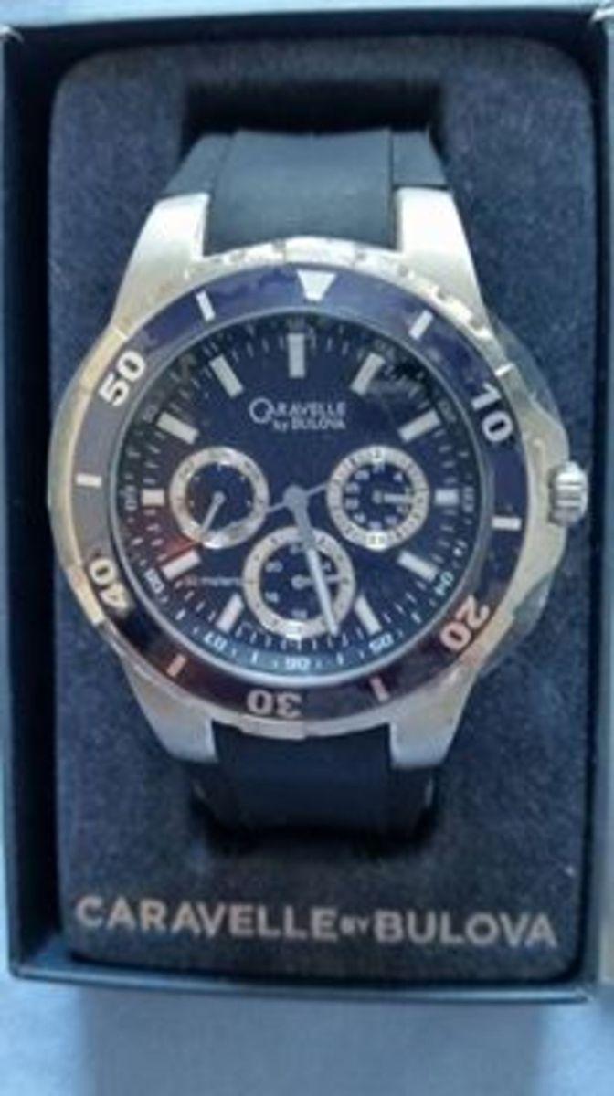 757a392a396 relogio bulova caravelle exclusivo - relógios bulova