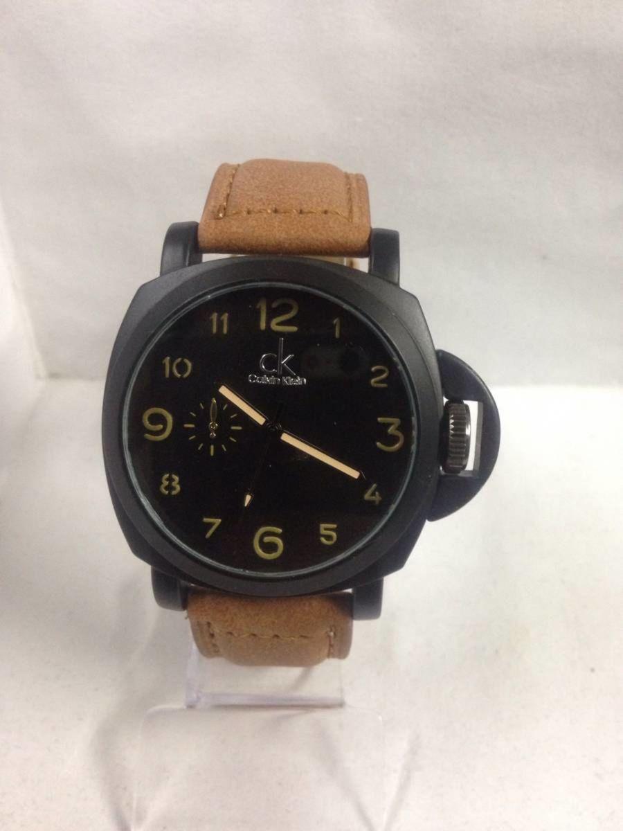 b9ac234c184a1 relógio calvin klein ck - pulseira em couro canvas - relógios calvin klein