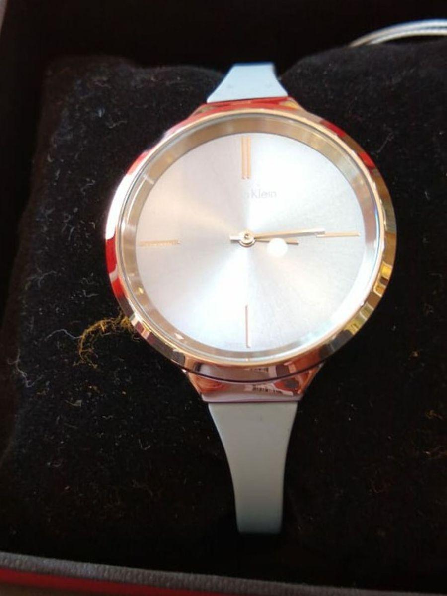661dd690336 relógio calvin klein lively rosé original feminino - relógios calvin klein