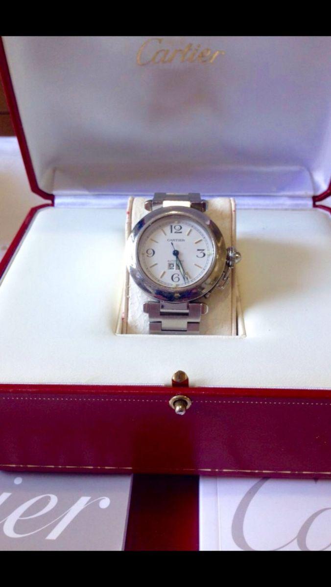 d952cc552b4 relógio cartier pasha original - relógios cartier