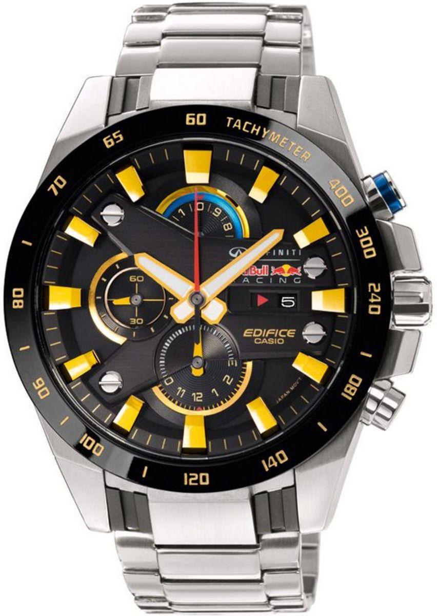 588b855289f0 relógio casio edifice racing preto efr 540 - relógios casio edifice
