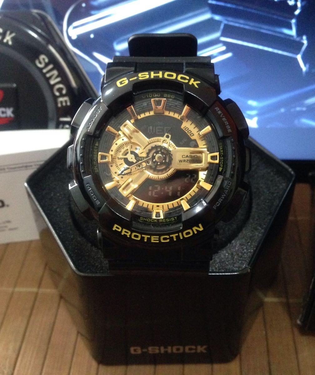 7fe85fa8595 relógio casio g-shock ga-110gb 1adr - relógios casio g-shock