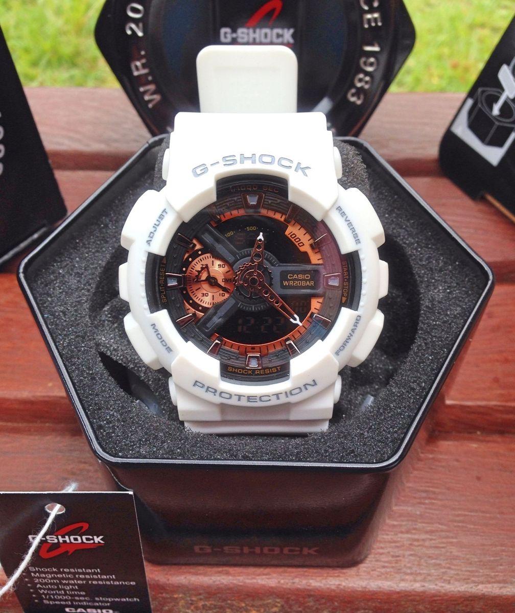 649895eea37 relógio casio g-shock ga-110rg - 7ajf - relógios casio g-shock