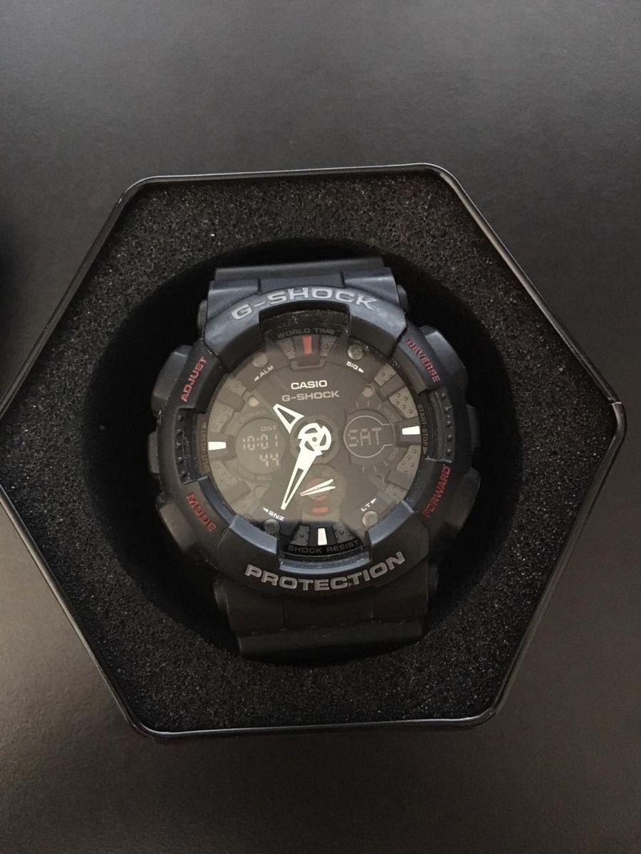 164943968d9 relógio casio g-shock ga-120 original - relógios casio