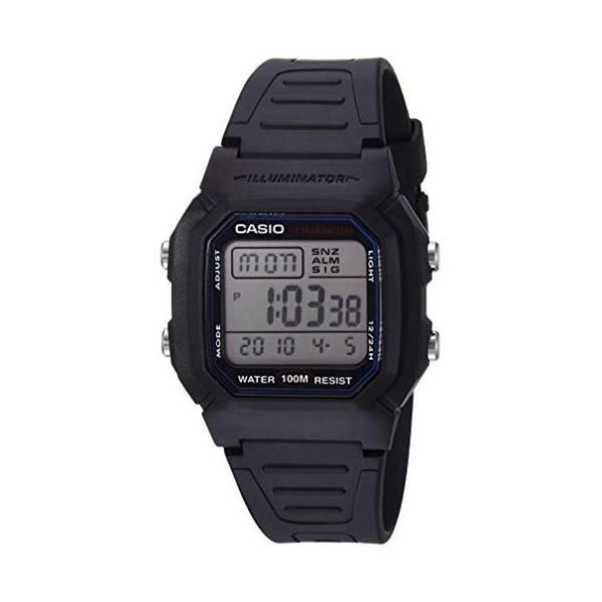 98a6fb9b2cc Relógio Casio Illuminator W-800h-1av - Original