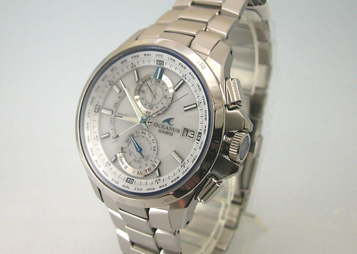 891e744d016 Relógio Casio Oceanus Ocw-t1000-7ajf - Importado e Novo
