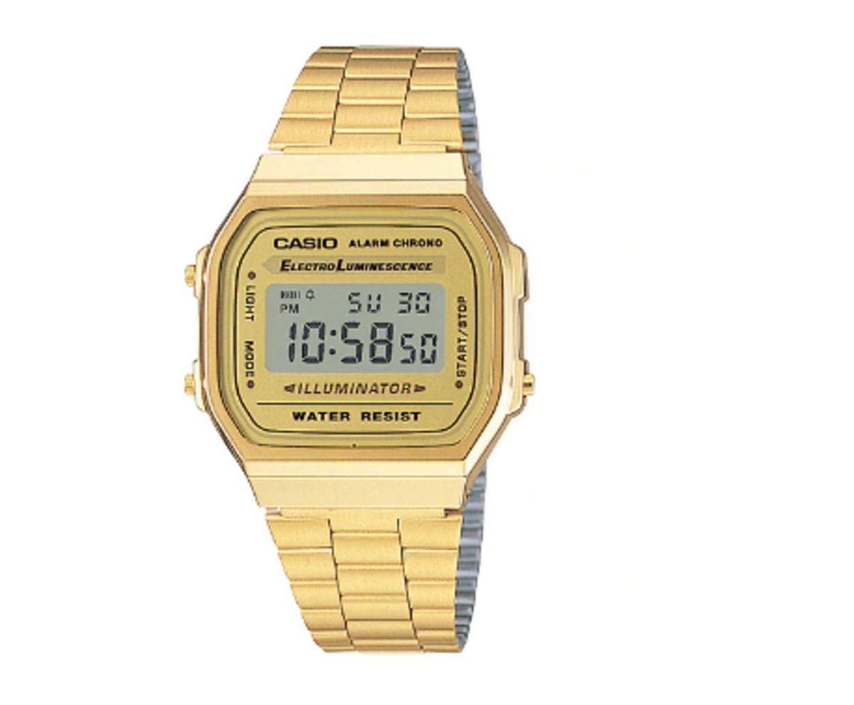 089d2173be5 relógio casio vintage original dourado novo - relógios casio
