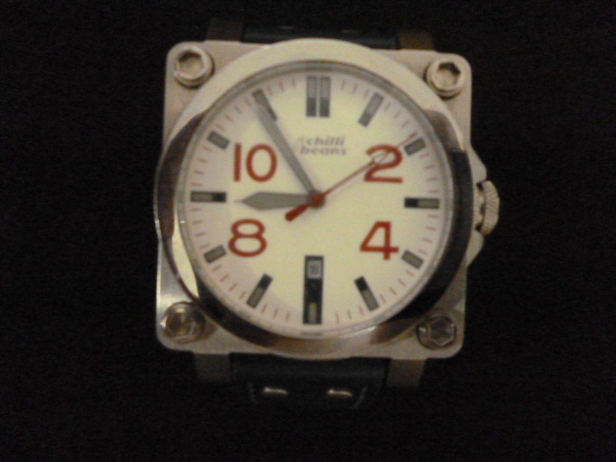 17cbcb903 Relógio Chilli Beans Modelo Re. Ac. 0092   Relógio Masculino Chilli ...