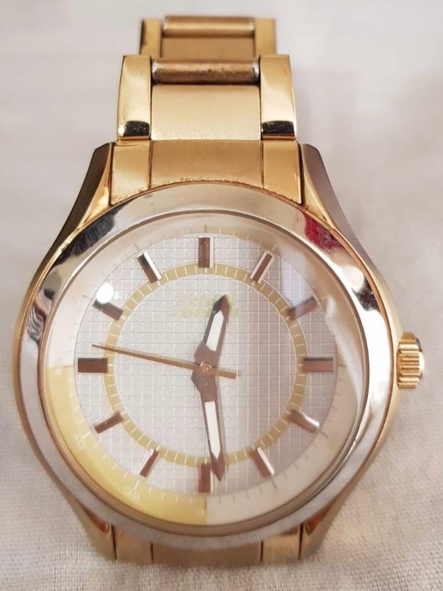 3d605459a Relógio Chilli Beans Original Dourado | Relógio Feminino Chilli ...