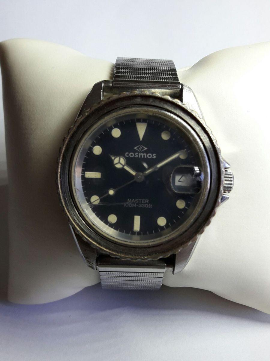 ba6cde1444e relógio cosmos automático - relógios cosmos.  Czm6ly9wag90b3muzw5qb2vplmnvbs5ici9wcm9kdwn0cy82mjg5mdcwlzrmn2y2yjdlnte5mdi5otu5ntjjngzmywy0otlkztczlmpwzw  ...