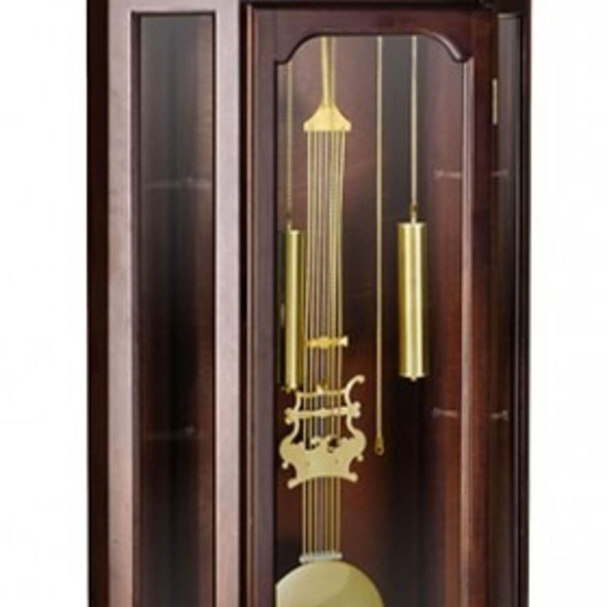 7365675762c Relógio de Coluna Chão Pedestal Carrilhão Cordas Herweg 5335