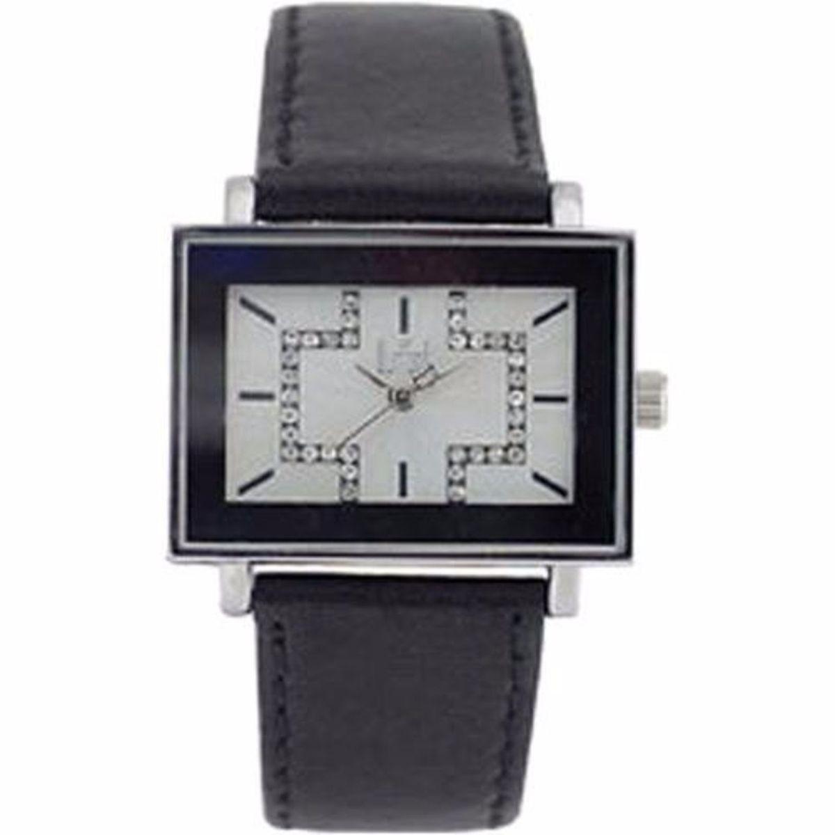 9595e40fd82 relógio dumont pulso feminino com cristais pulseira couro - relógios dumont