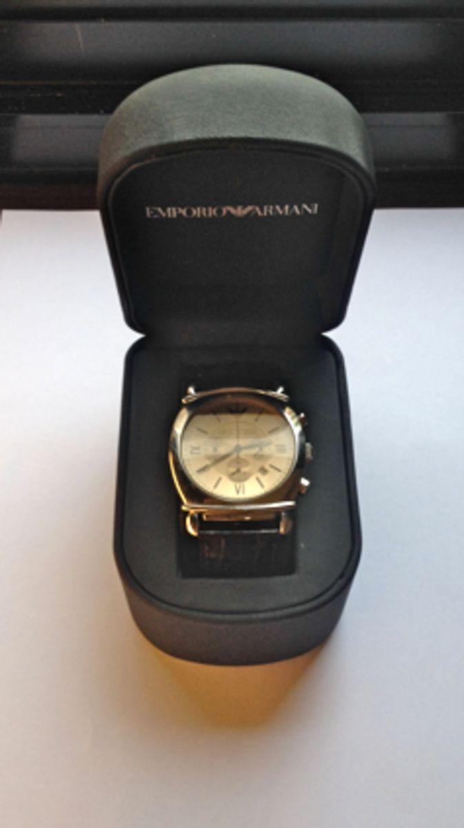 Relogio Emporio Armani Ar 0286   Relógio Masculino Emporio Armani ... a530c07e7a