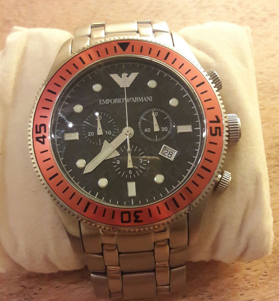 cb122444813 relógio empório armani ar0552 - relógios emporio armani
