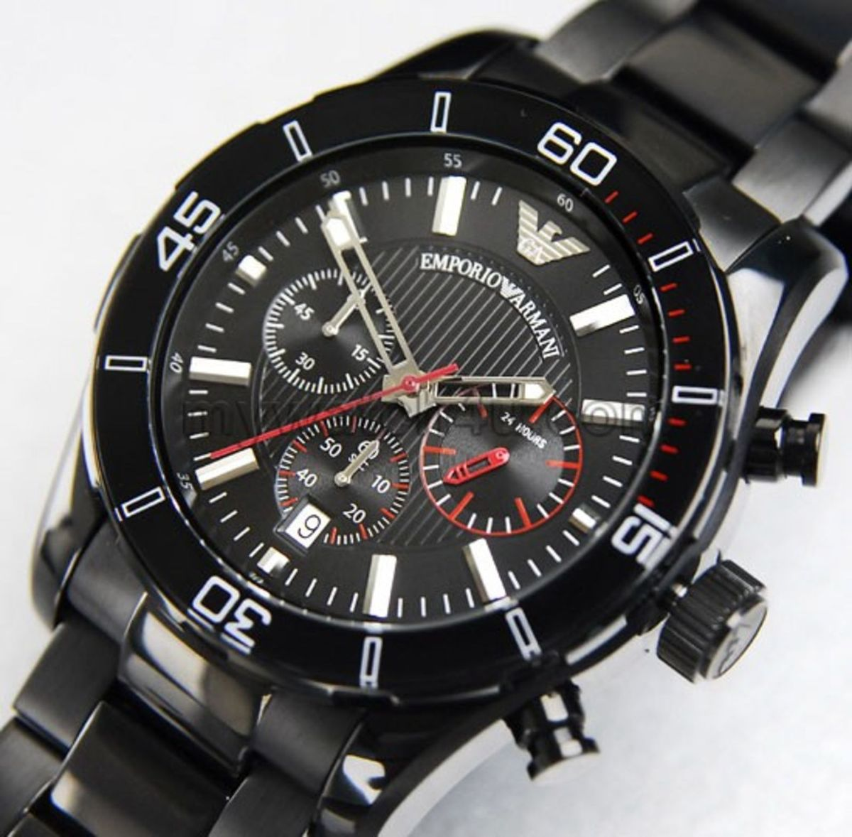 5ec981b72dd relogio emporio armani ar5931 preto caixa manual - relógios armani