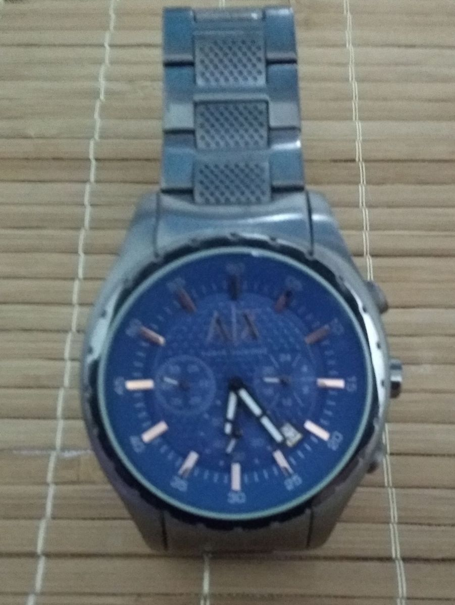 7c6910dbf2a relógio emporio armani exchange ax 1166 - relógios emporio armani exchange