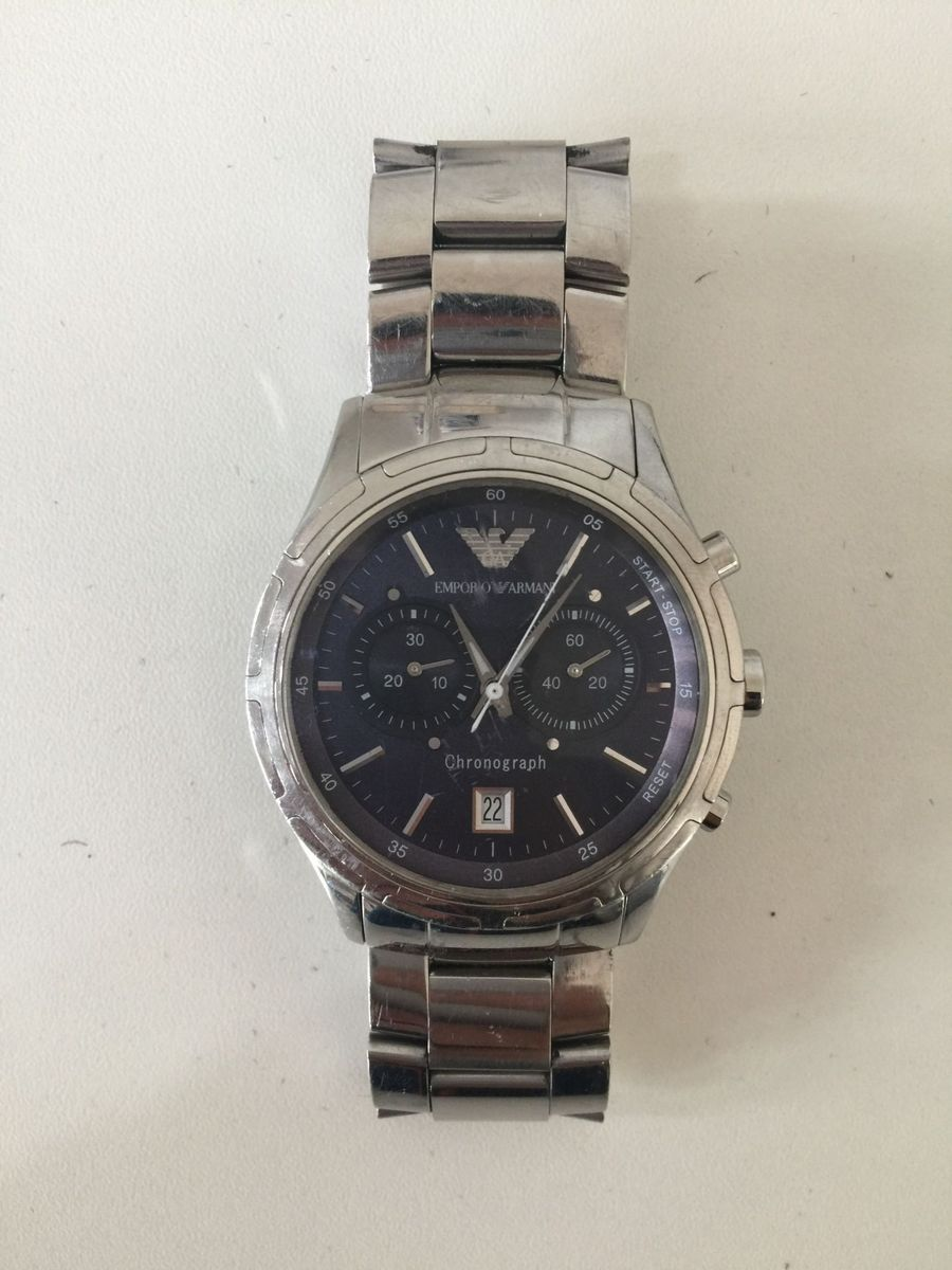 1d400472a5fc8 relógio empório armani - original - relógios emporio armani