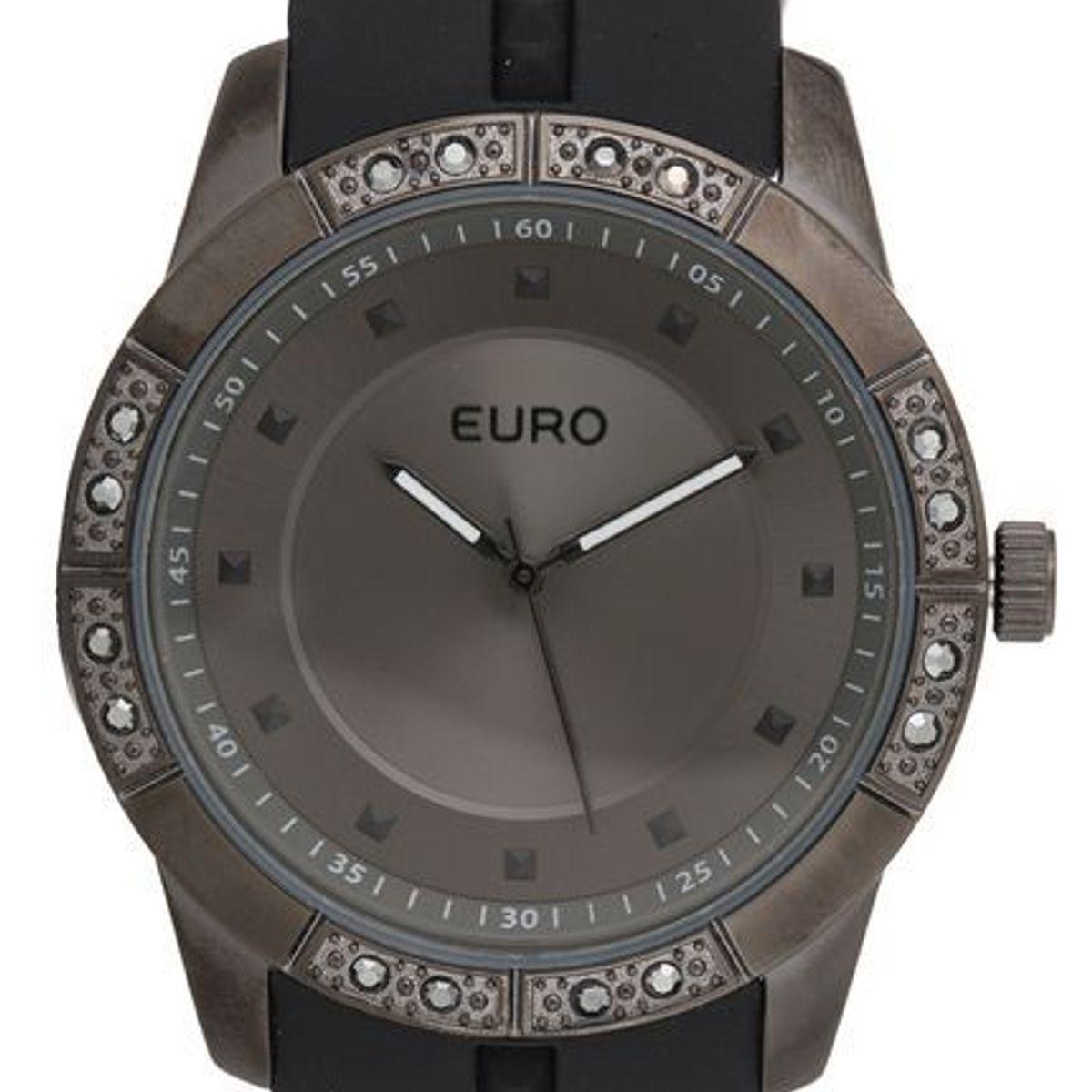 682df723a57 Relógio Feminino Euro Analógico Fashion Fit Sabrina Sato - Eu2036yela 8d -  Preto