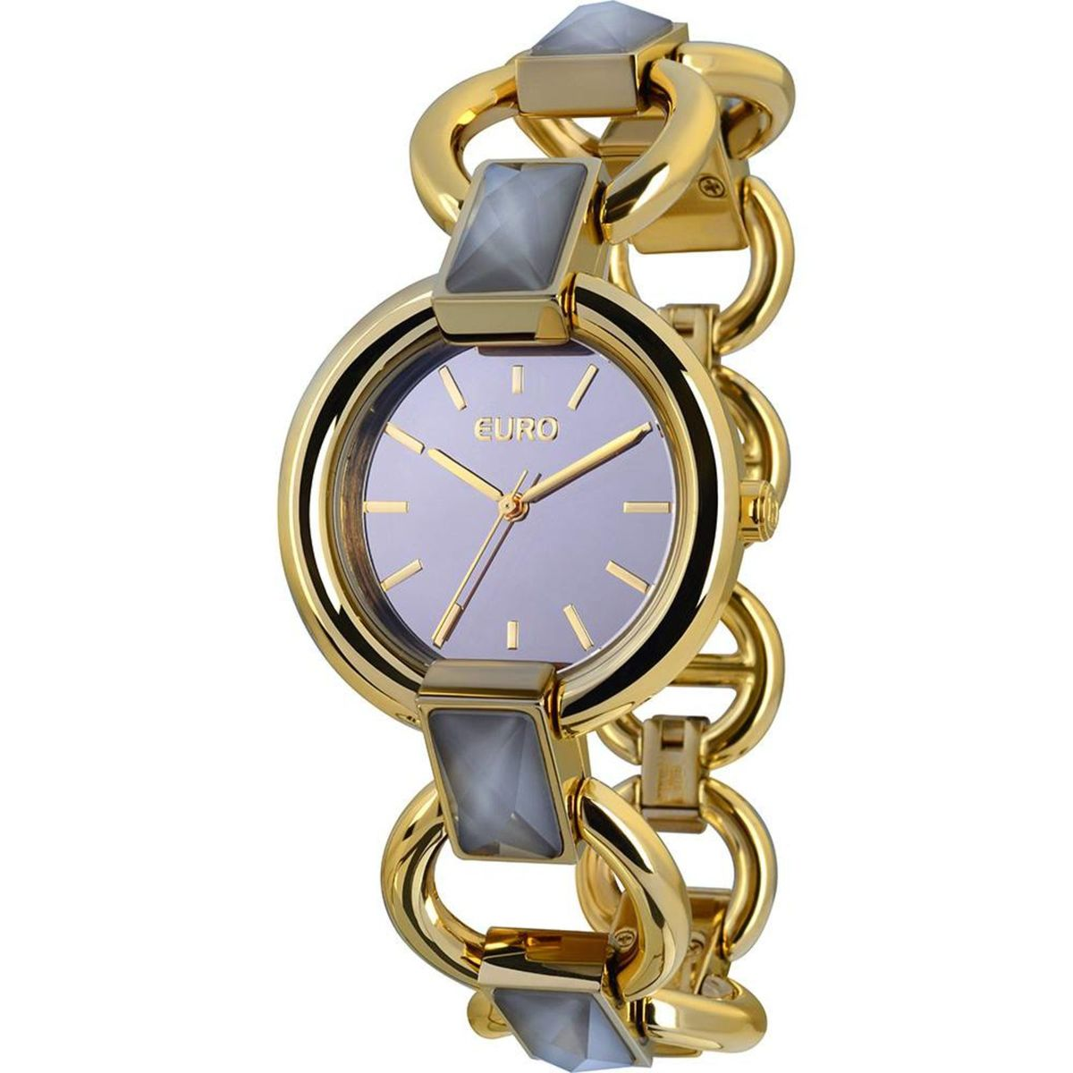 05cbec6587a Relógio Feminino Euro Analógico Fashion