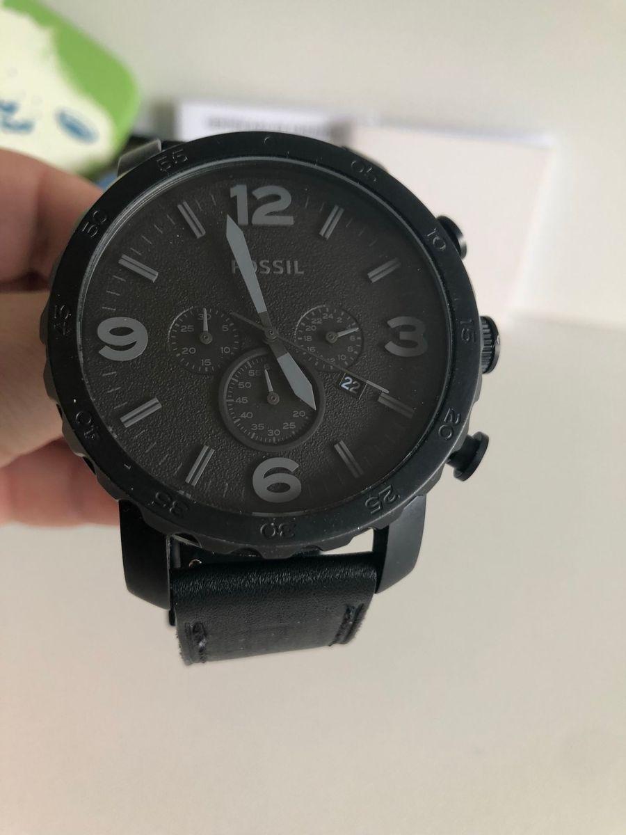 relógio fossil preto - relógios fossil.  Czm6ly9wag90b3muzw5qb2vplmnvbs5ici9wcm9kdwn0cy83otawmzmzlzljntq5njuxyjg5ytvlodi1oda4ogrhywvlzgflntgzlmpwzw  ... 2d273e3187