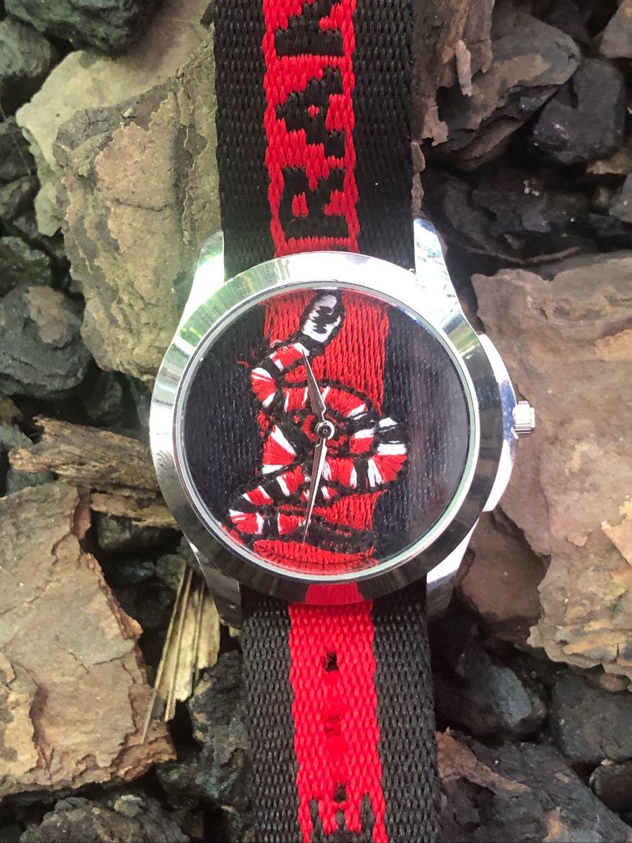 e2770c9a6fe relógio gucci importado serpente promoção - relógios gucci