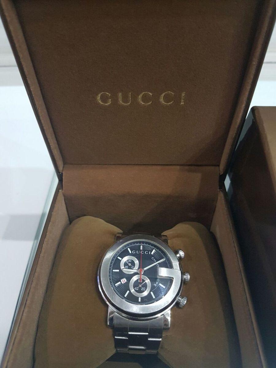 0373e682835 relogio gucci original chronoscope 101m - relógios gucci