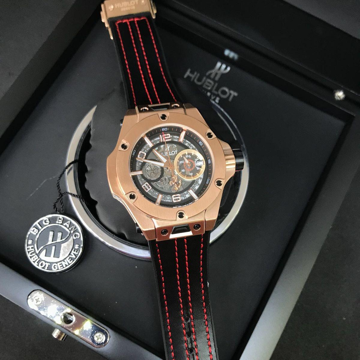 6d5ff87234e Relógio Hublot Big Bang Unico Ferrari