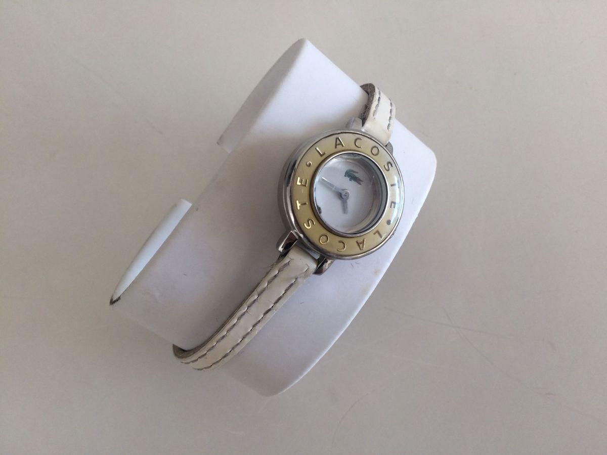 7c38eafef91 relógio lacoste couro branco - relógios lacoste.  Czm6ly9wag90b3muzw5qb2vplmnvbs5ici9wcm9kdwn0cy8yndkxmtivmgrlmzviymzky2uyzdjkztvjzjeynznkztzimjkwzdcuanbn  ...