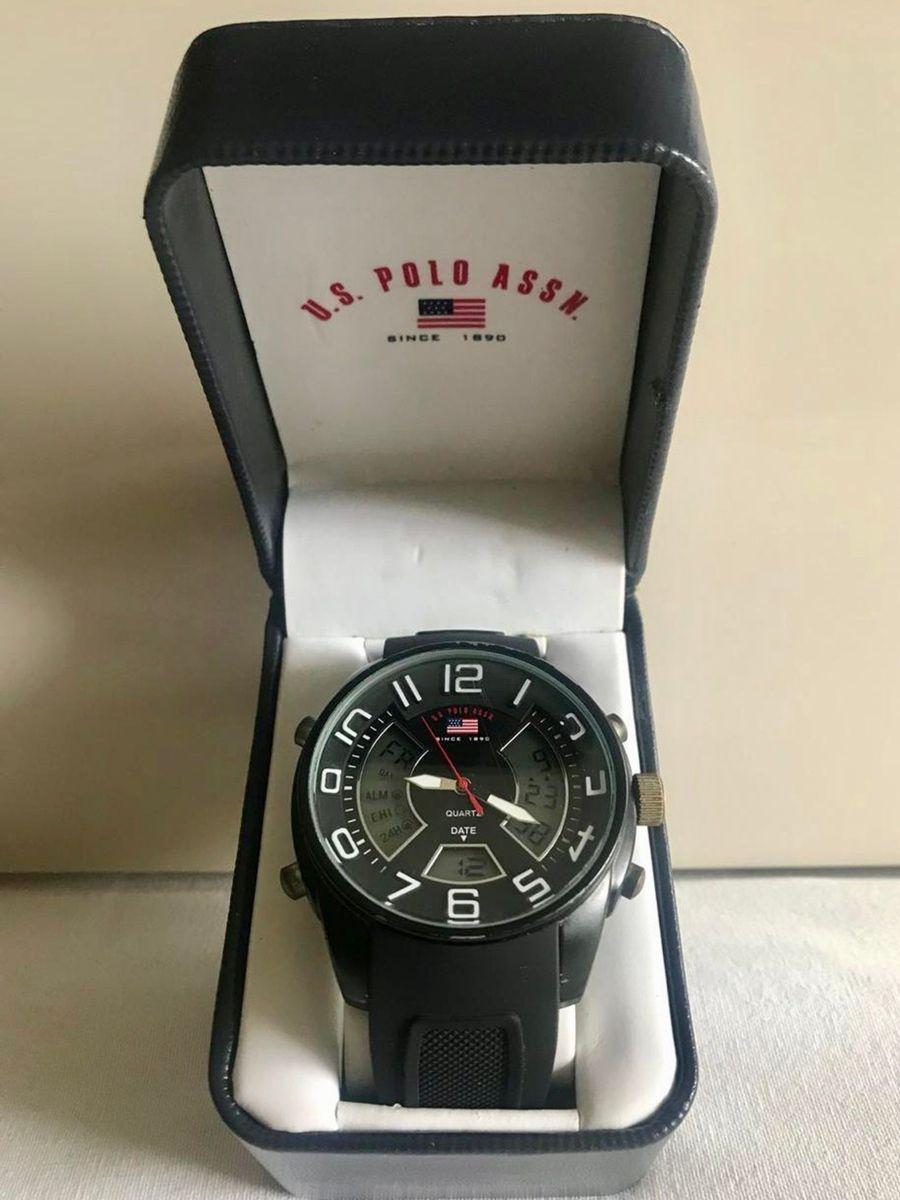 86124701d7b relógio masculino da u.s. polo assn - relógios polo