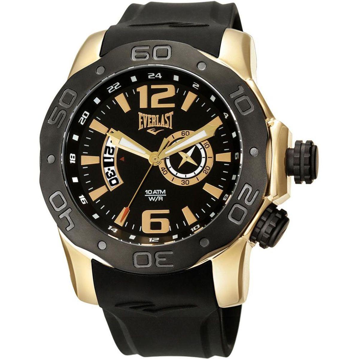 52a635ad7b6 Relógio Masculino Everlast Analógico Esportivo