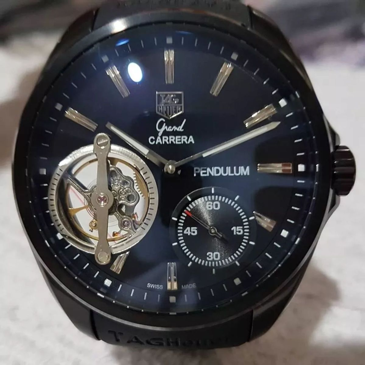 e603703d171 relogio masculino pendulum tag carreira - relógios tag heuer