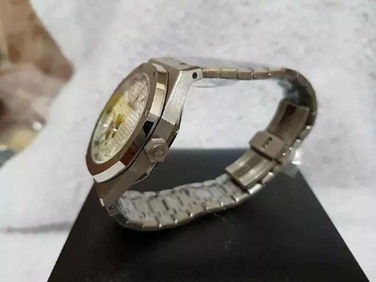b9126f3932b Relógio Masculino Prata Audemars Piguet