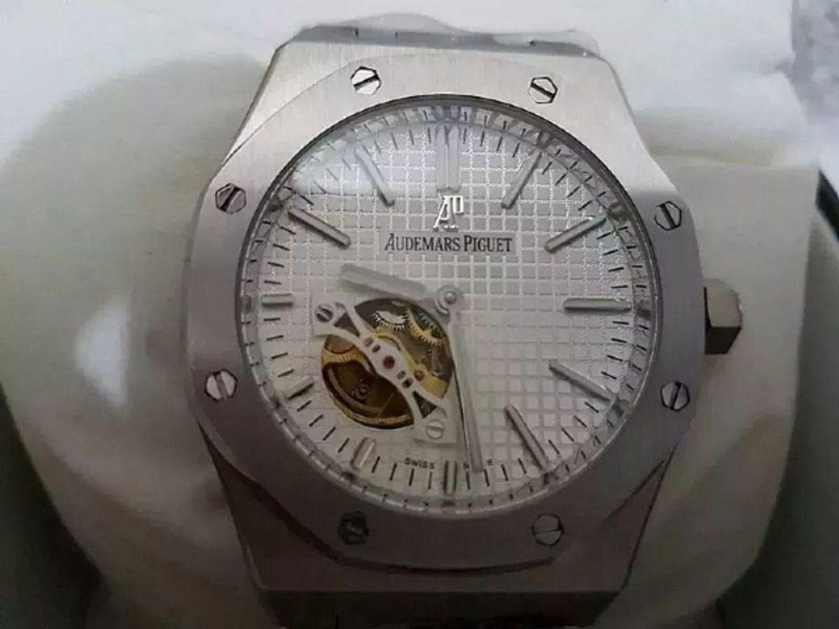 e90512856f9 promoção de natal relógio masculino prata audemars piguet - relógios  audemars-piguet