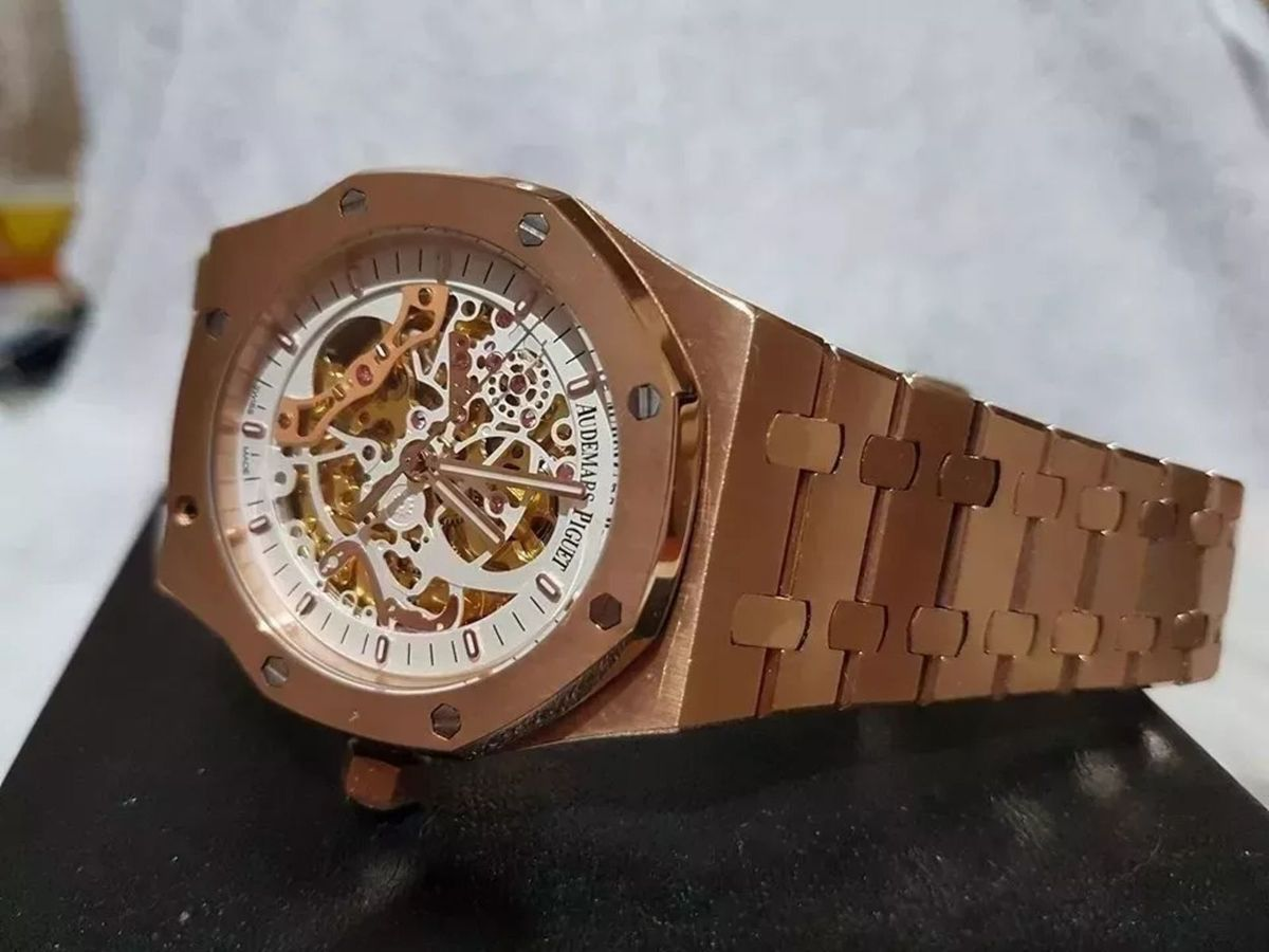 e89708f40d7 Relógio Masculino Skeleton