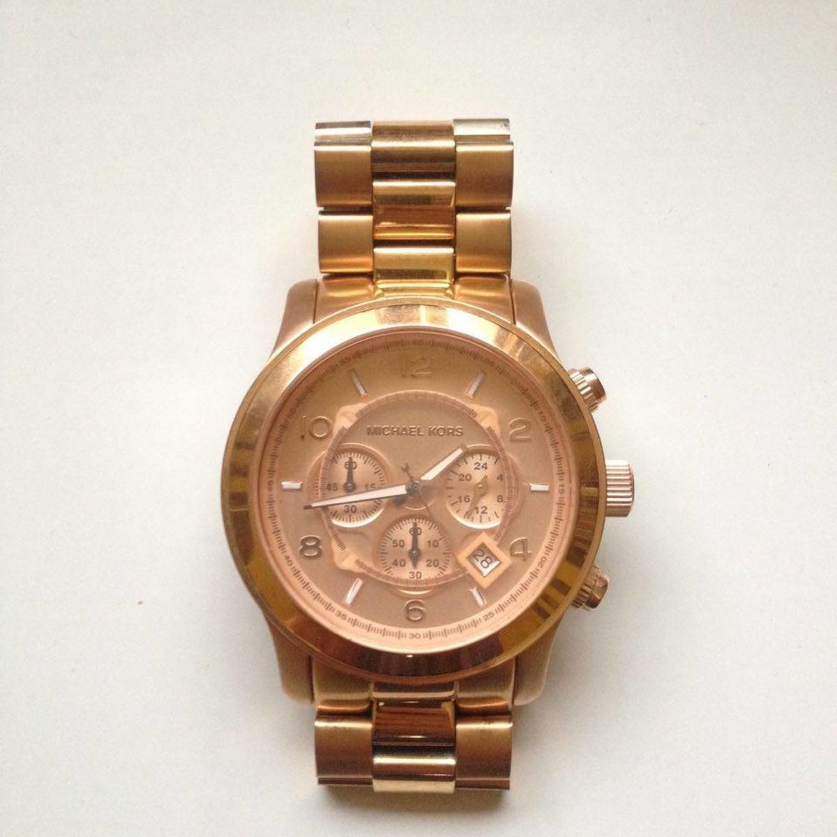 47c9e14e9 Relógio Michael Kors Mk 8086 | Relógio Feminino Michael Kors Usado 21015040  | enjoei