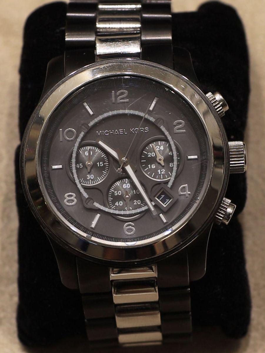 60d9fef10 Relógio Michael Kors Mk 8182 Na Caixa | Relógio Masculino Michael ...