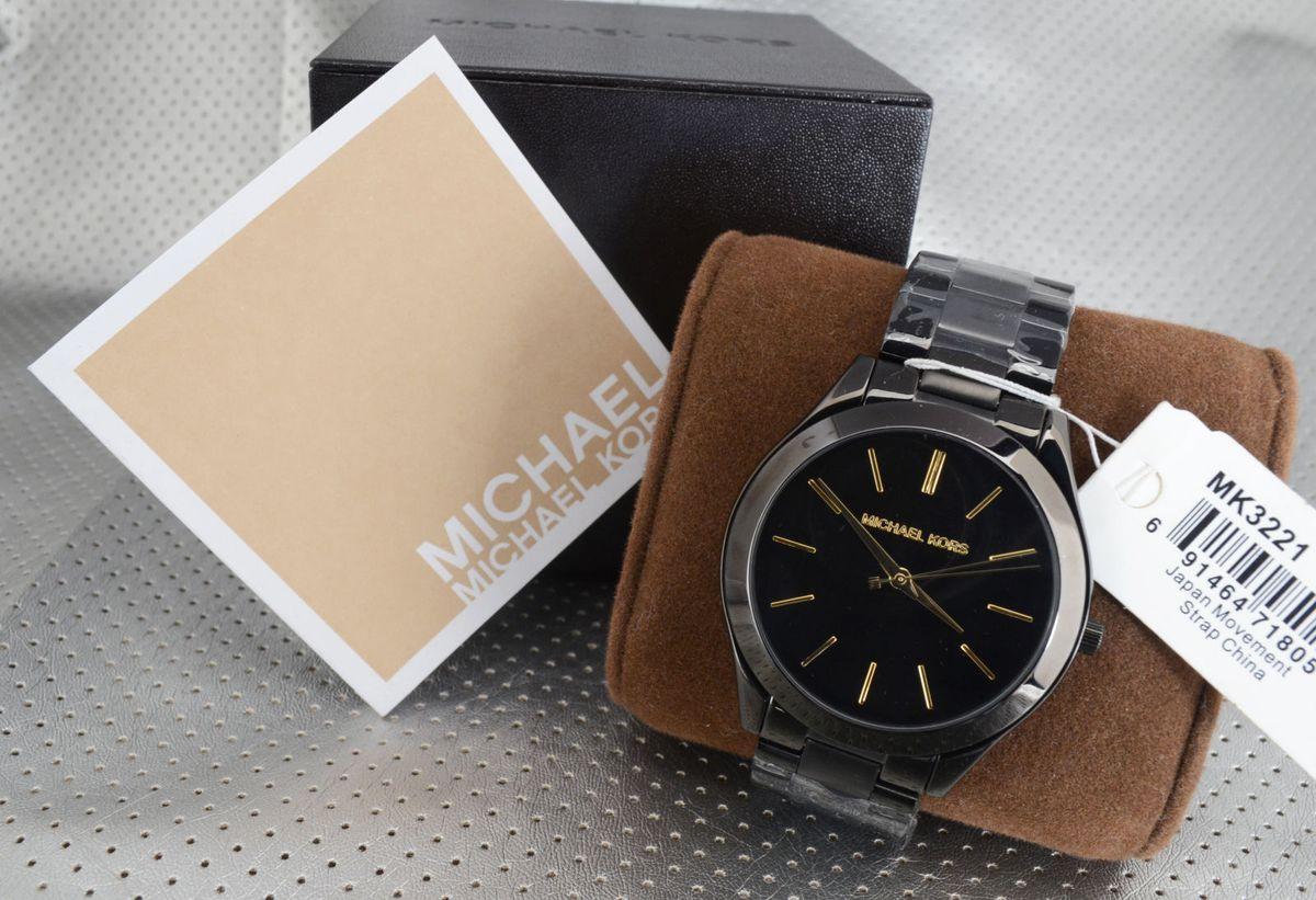 Relógio Michael Kors Mk3221   Relógio Feminino Michael Kors Nunca ... 24f97b7db3