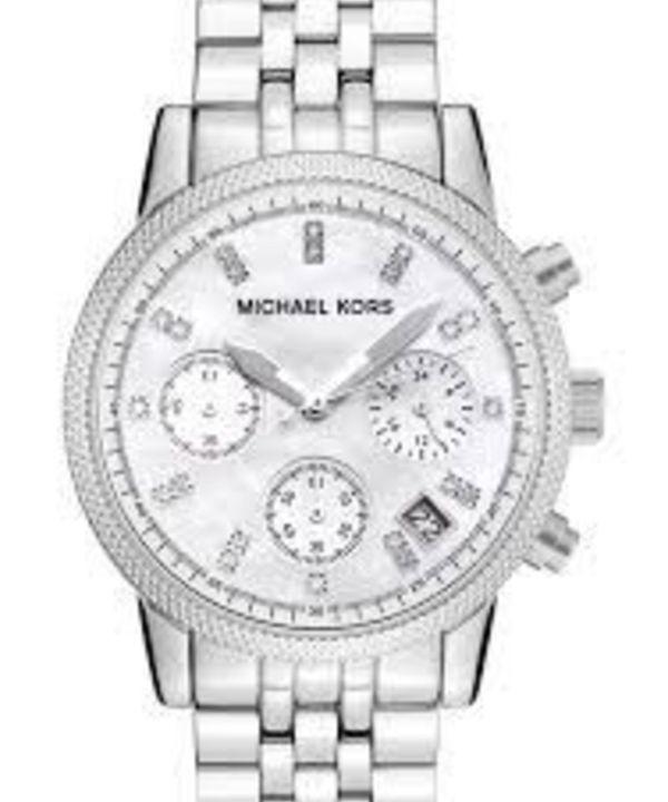 Relogio Michael Kors Mk5020 Prata Caixa Manual   Relógio Feminino Michael  Kors Nunca Usado 19282465   enjoei dde00c7a3a