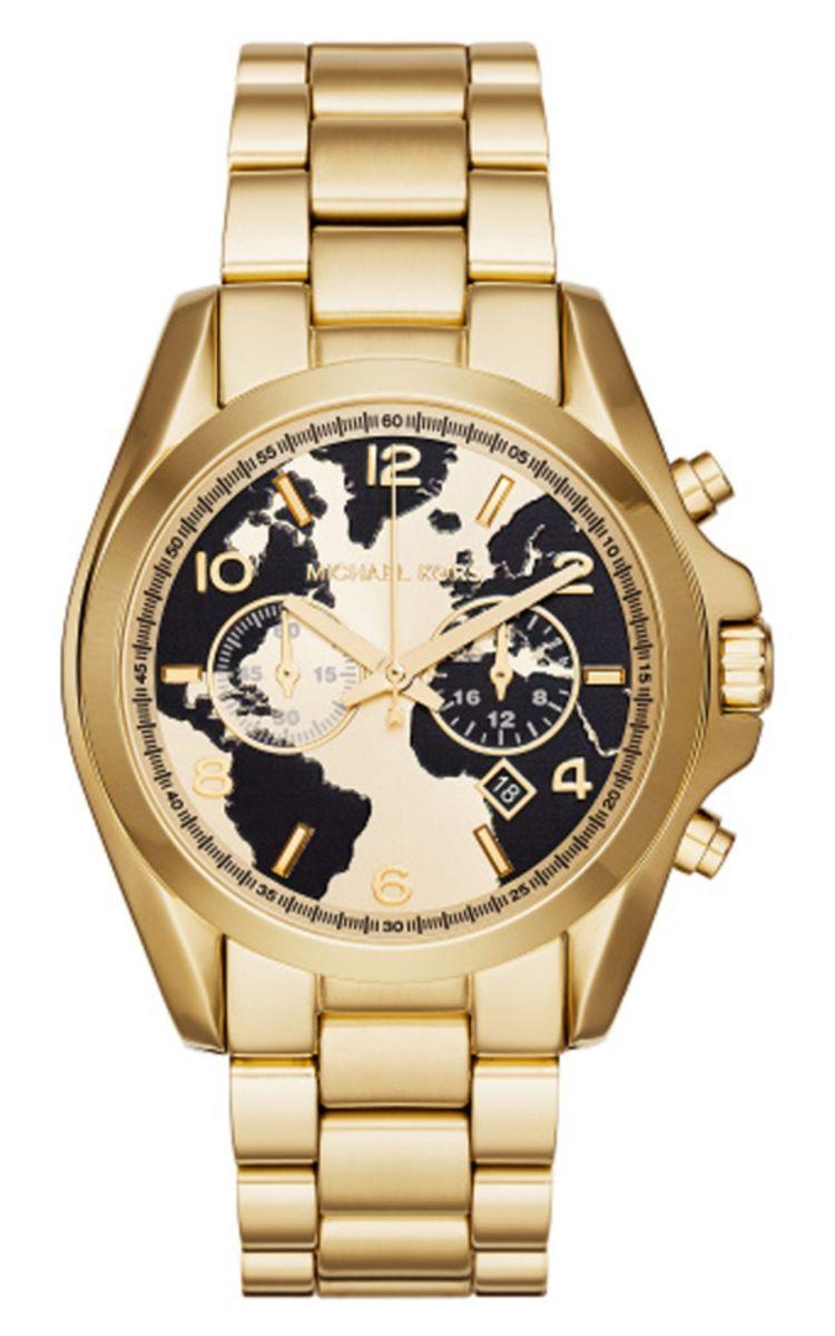 relogio michael kors mk6272 preto dourado caixa manual - relógios michael  kors a9cee5d166