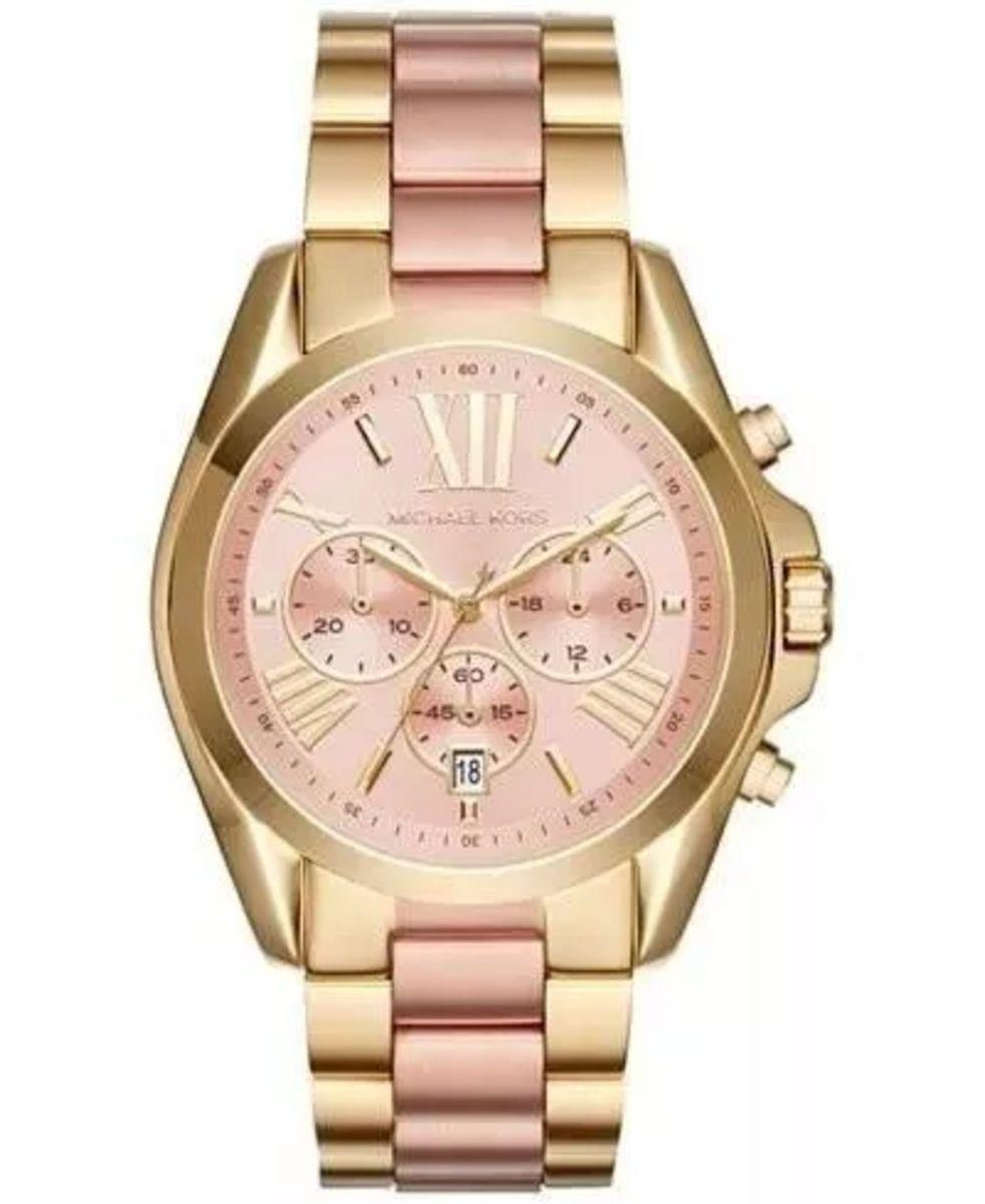 dfecdcf6ea4df relógio michael kors mk6359 rose dourado caixa e manual ur56 - relógios  michael kors