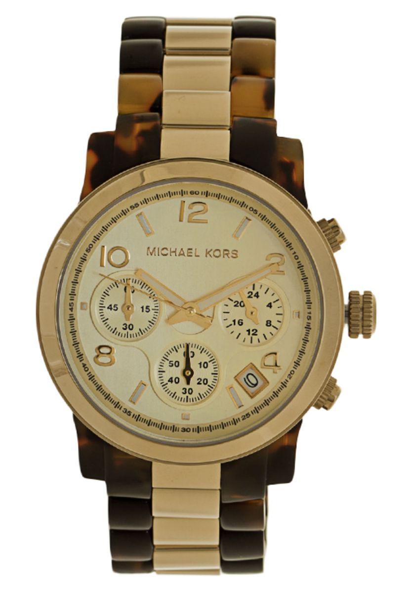 f227926e22e relógio michael kors omk5138z dourado marrom - relógios michael kors