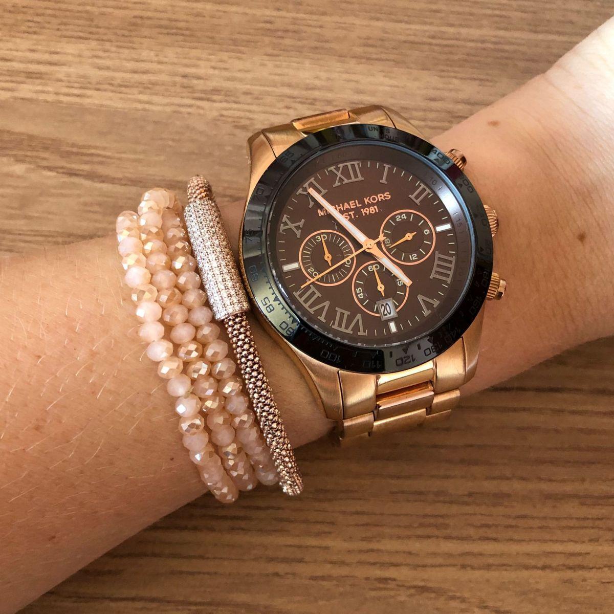 c34b61320 Relógio Michael Kors | Relógio Feminino Michael Kors Usado 26524465 | enjoei