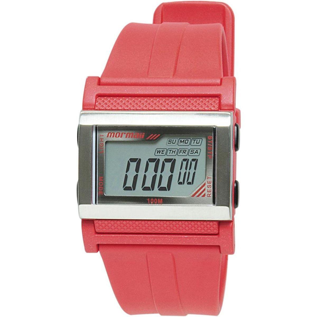 5efacaf3c0f Relógio Mormaii Digital Esportivo Novo Resistente à água 100 metros