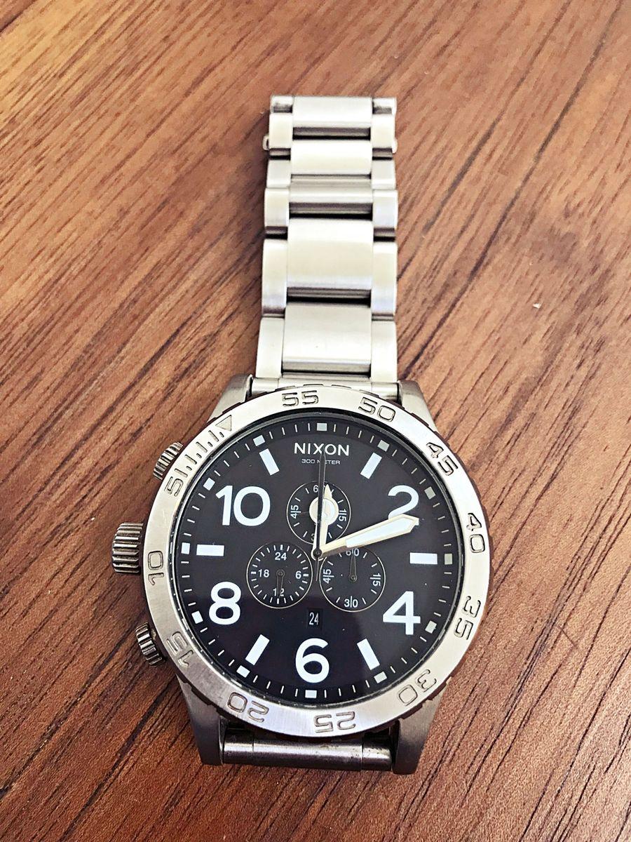 01a8f4b6e9c relógio nixon 51-30 chrono - relógios nixon.  Czm6ly9wag90b3muzw5qb2vplmnvbs5ici9wcm9kdwn0cy81ntu5lza2mguwothhmge1m2fiyjq0njk4nwiwndjmzjbkmtczlmpwzw  ...